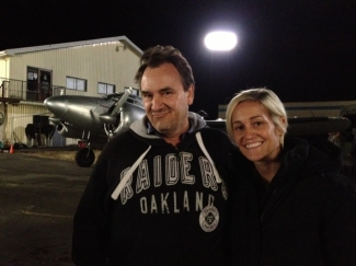 On the Set of Falling Skies with Greg Beeman and Luvia Petersen